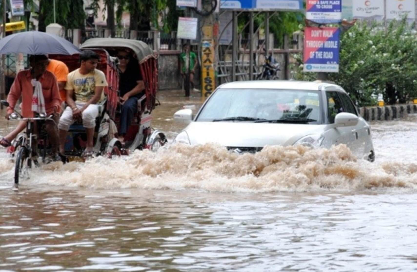 Guwahati's contribution to its very own 'Artificial Floods'