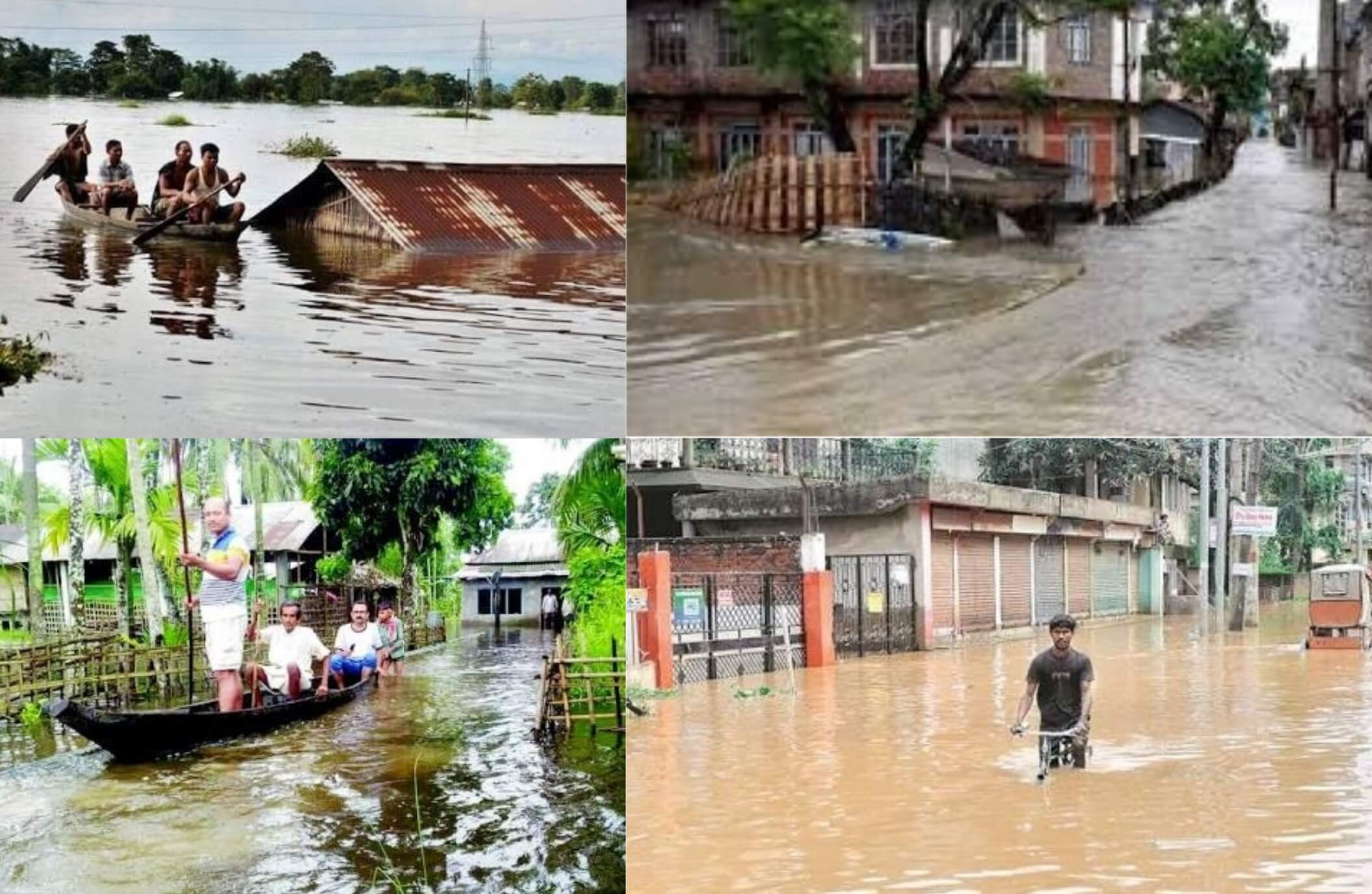 Floods Continue to Wreak Havoc in Northeast, Over 4.25 Lakh Affected