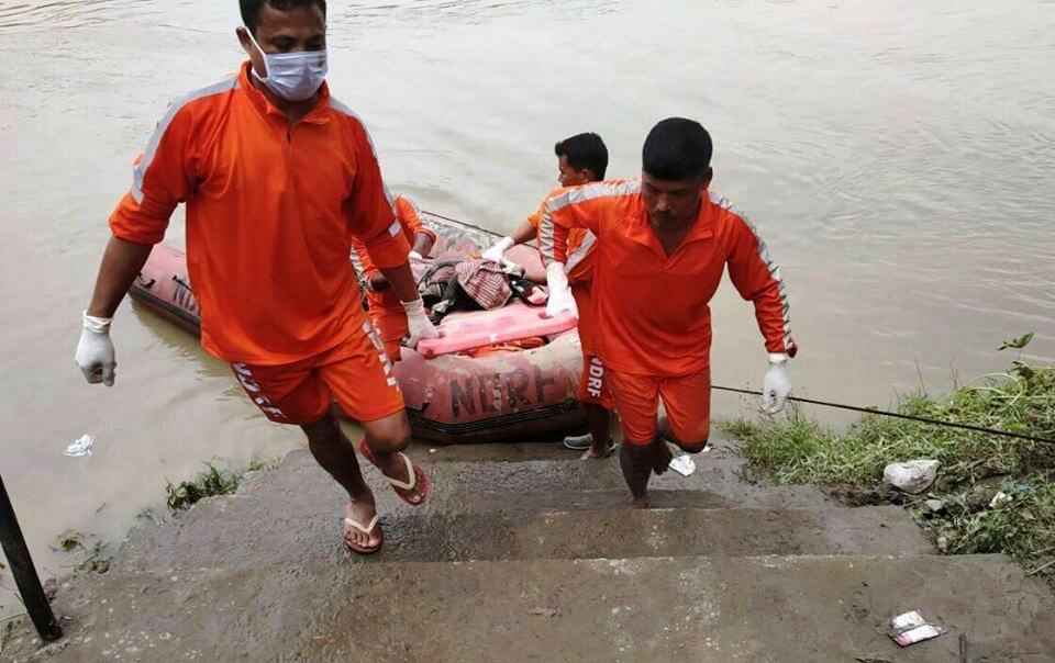 Flood takes a toll of  8 in Cachar, 2 missing