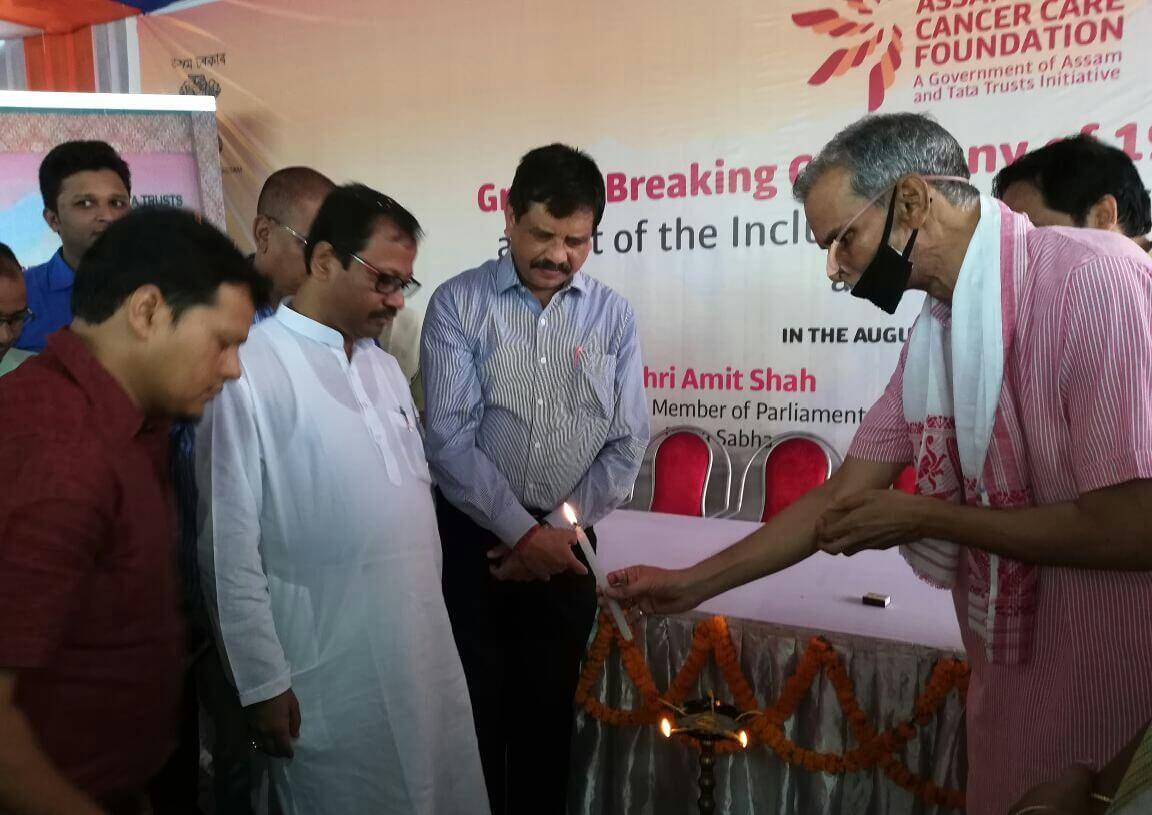 Foundation of cancer care centre laid