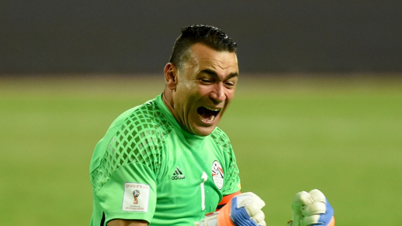 Egypt's goalkeeper thrilled  as World Cup record looms