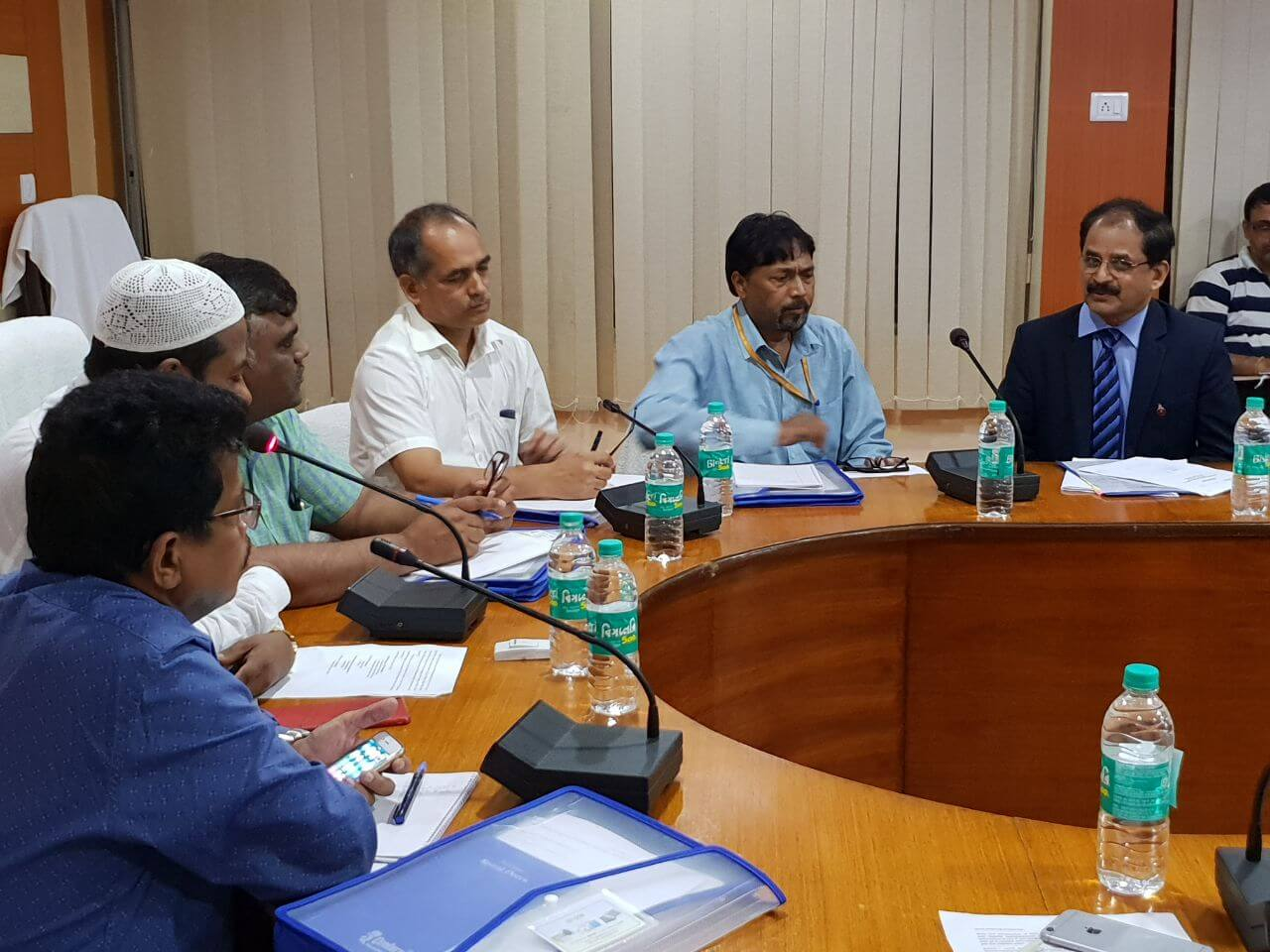 GoI nodal officers discuss action plan under GSA II