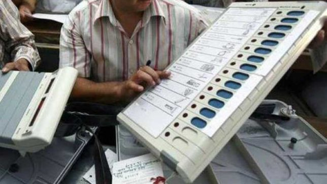 EVMs with VVPAT machines to replace ballot papers