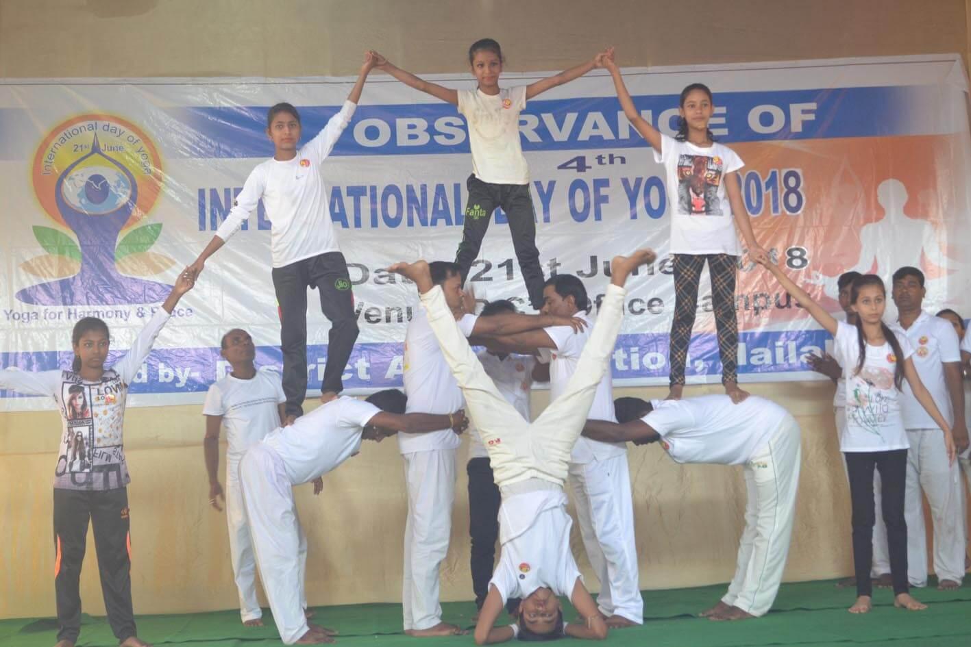 Yoga Day observed in Hailakandi