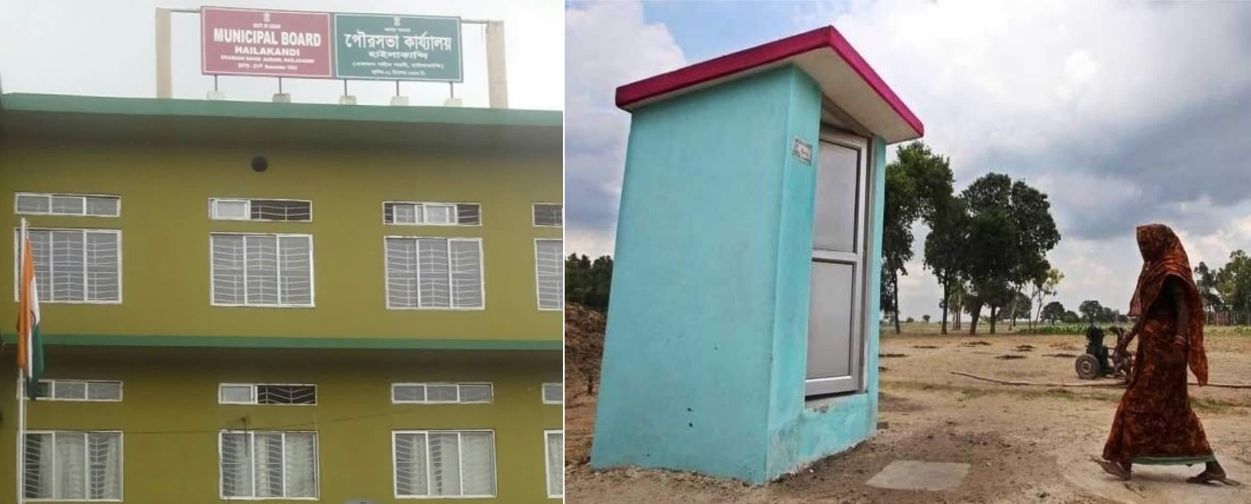 Hailakandi town declared ODF
