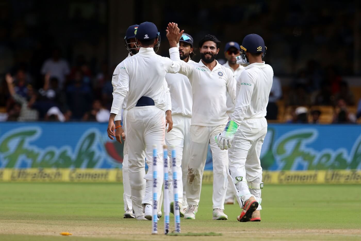 India overwhelm Test debutants Afghanistan