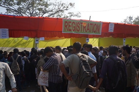 Job fair at Tengakhat College