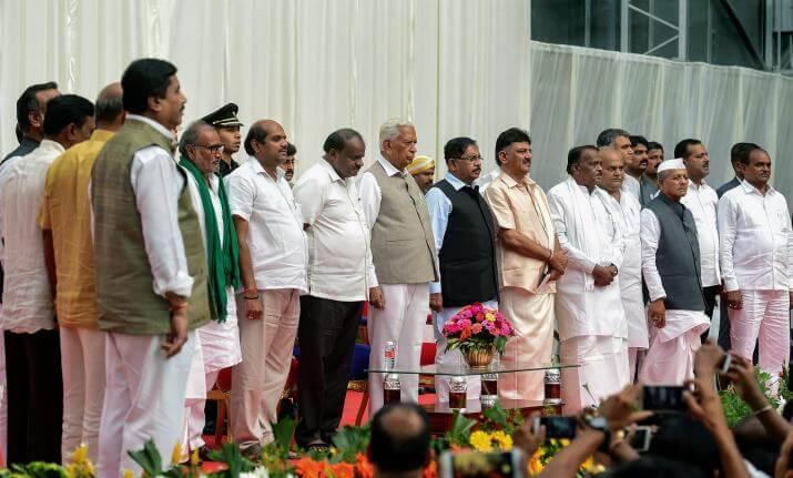 Karnataka coalition ministry expanded