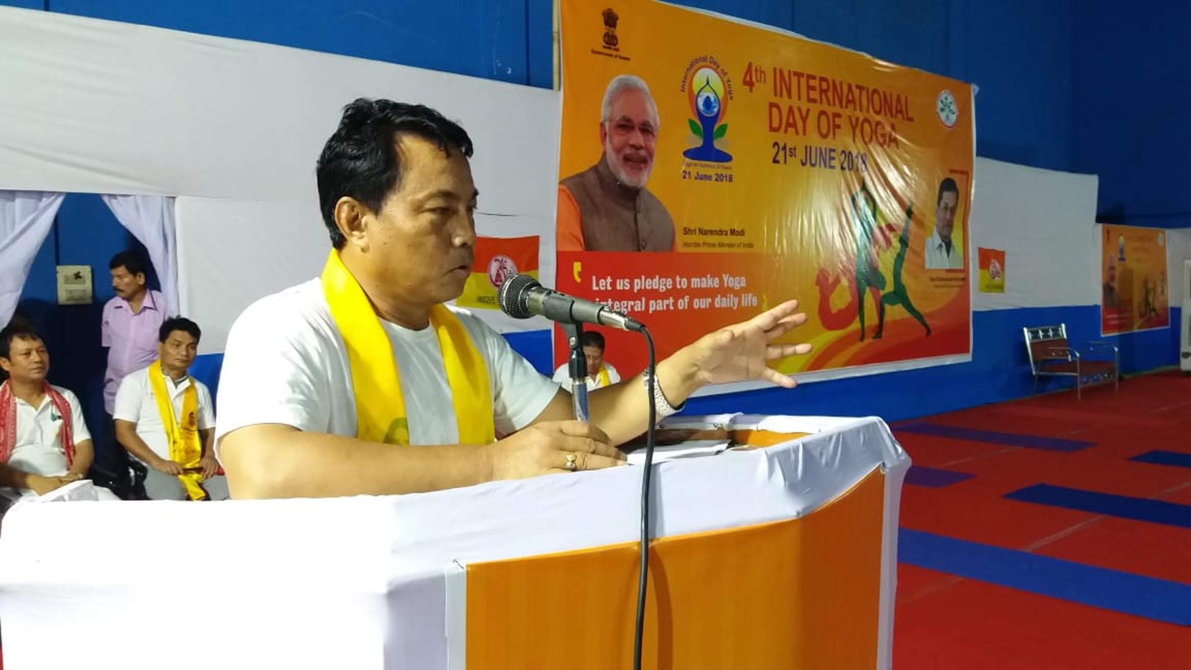 International Day of Yoga observed across State