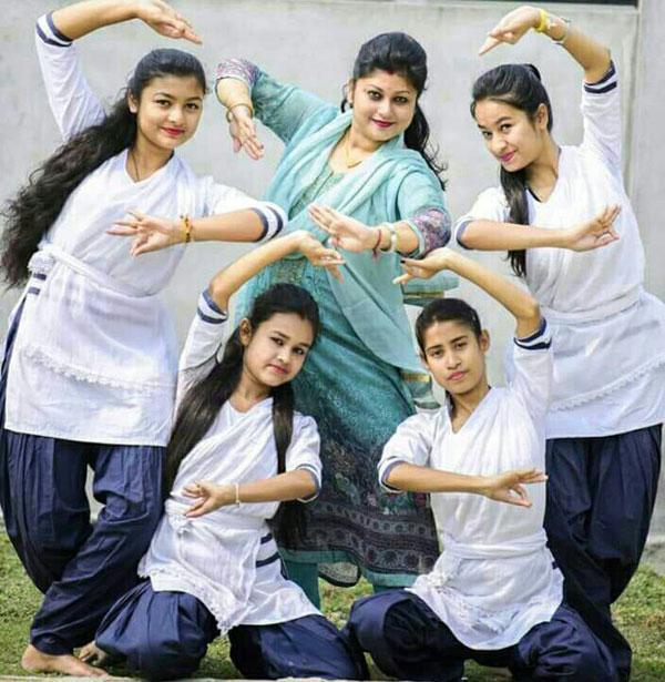 Letter marks in 'Xatriya Nritya' in HS
