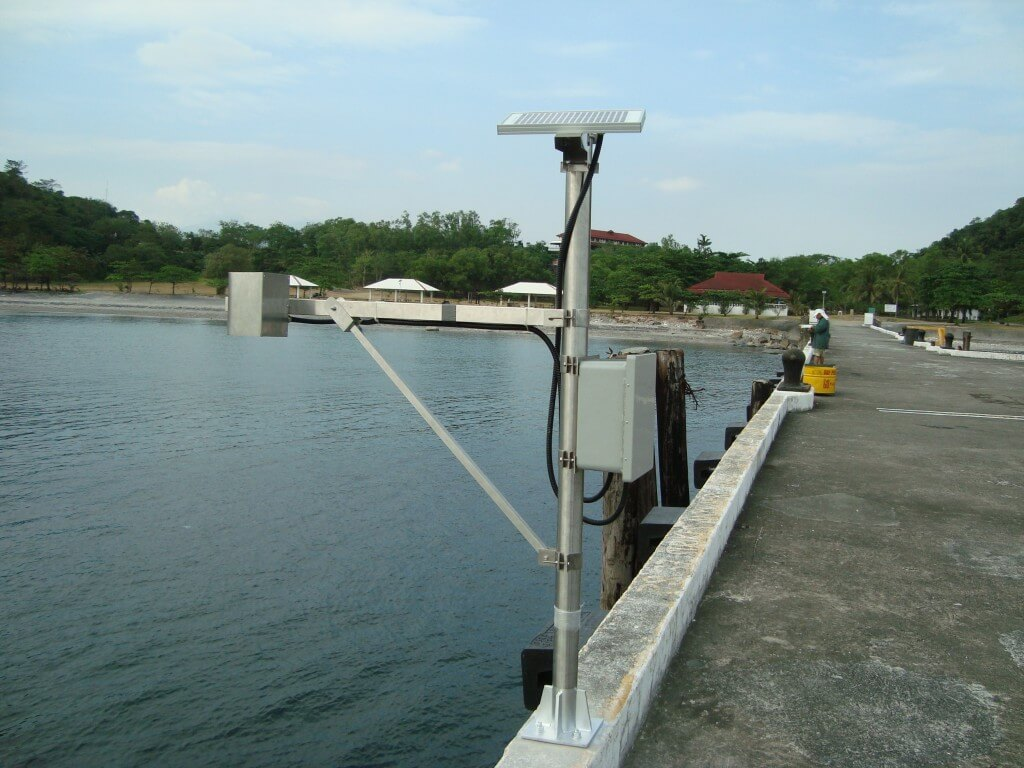 NF Rly installs water-level  monitoring device