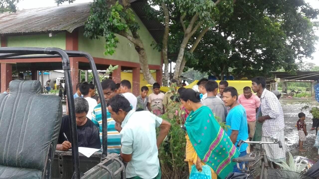 Manas Maozigendri Ecotourism Society distributes saplings