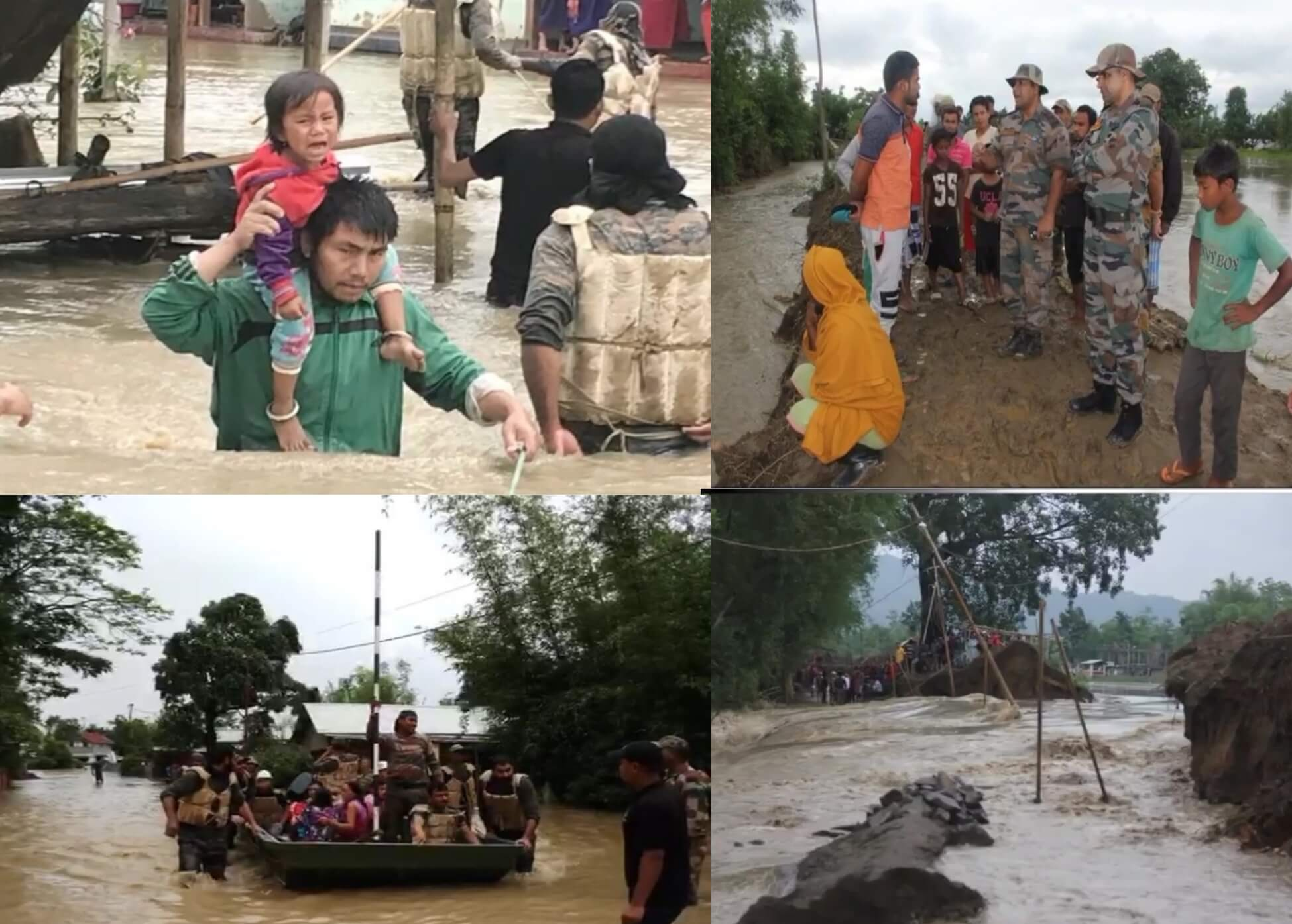 Imphal, Thoubal Rivers Swell Above Danger Mark in Manipur