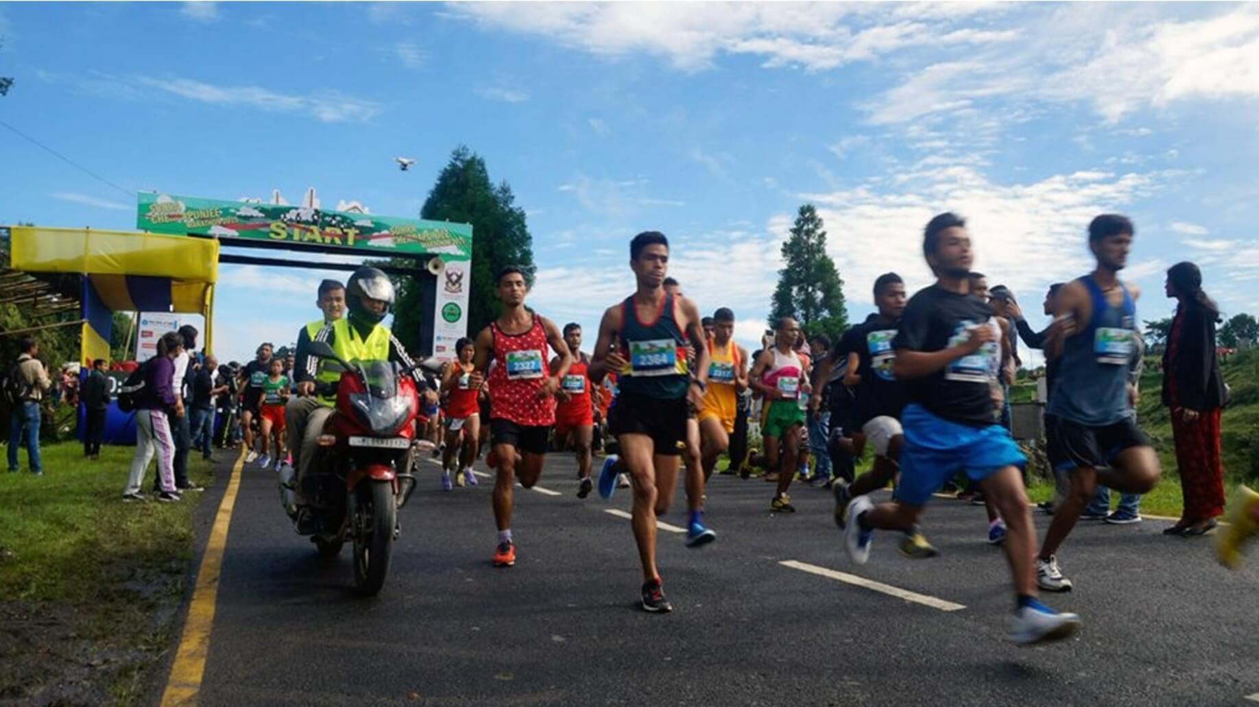Roy extends support to Sohra marathon