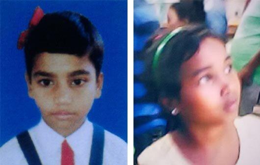 Two minor girls missing