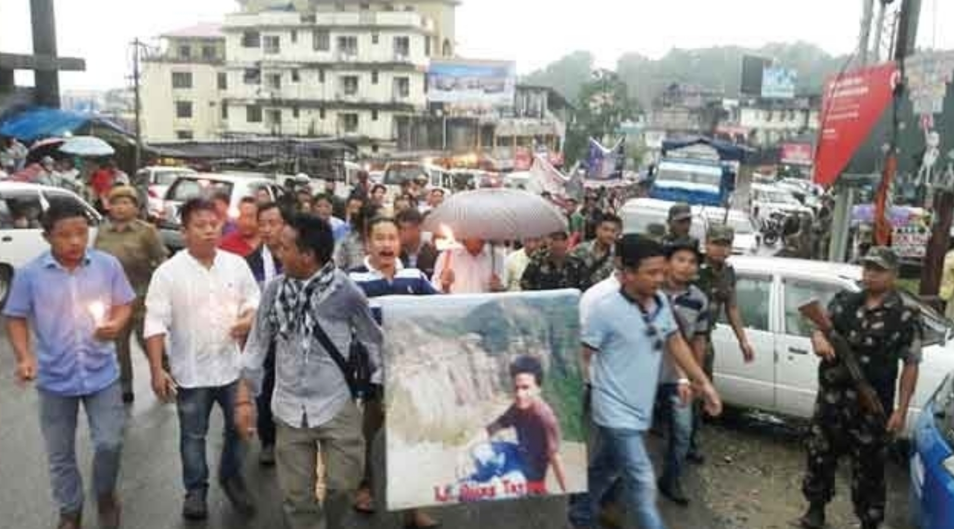 Demand for CBI probe into  Ojing Taying murder case