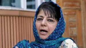 Muscular policy wont work in Kashmir, says Mehbooba