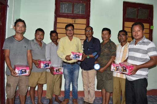 Nature lover distributes flashlights among villagers, forest guards