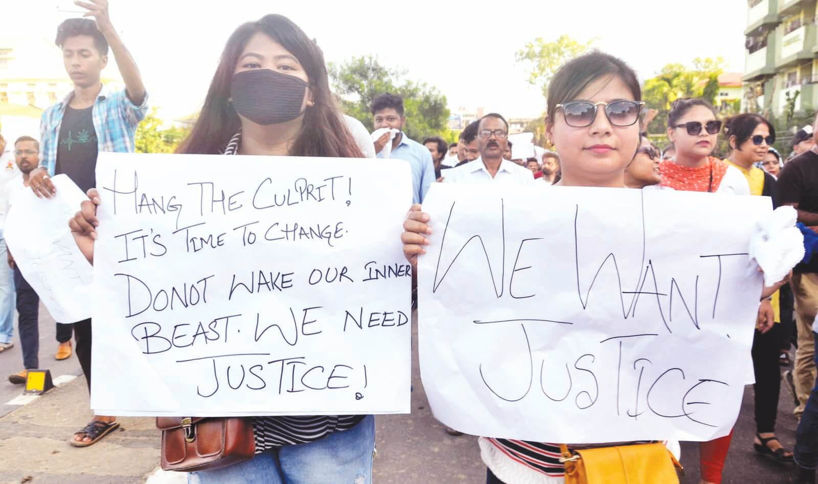 Chandmari explodes in protest