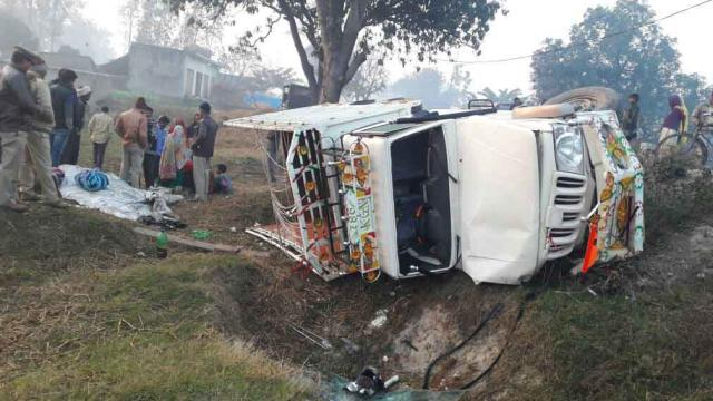 3 killed in a road accident