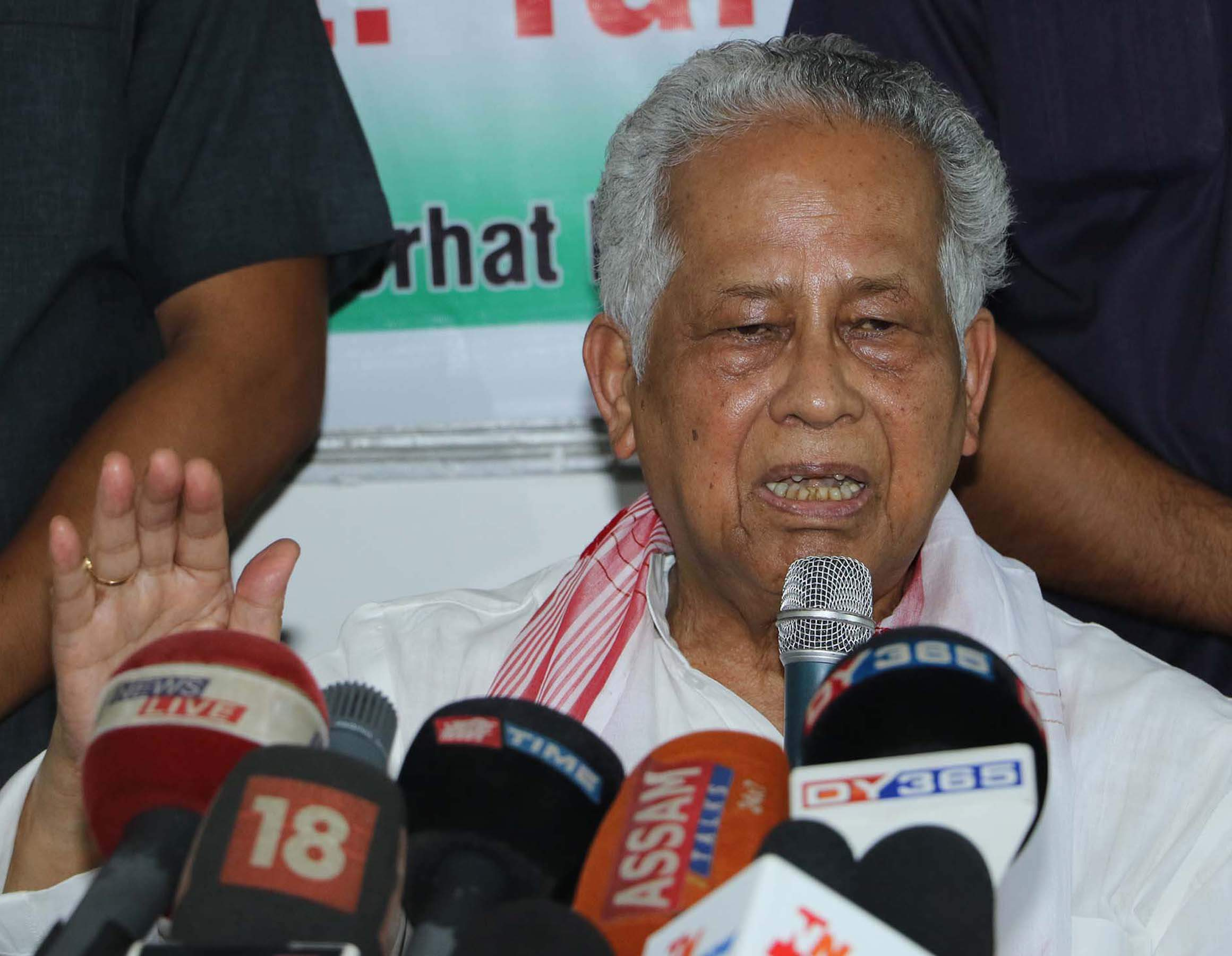 Pranab made a big mistake: Tarun Gogoi