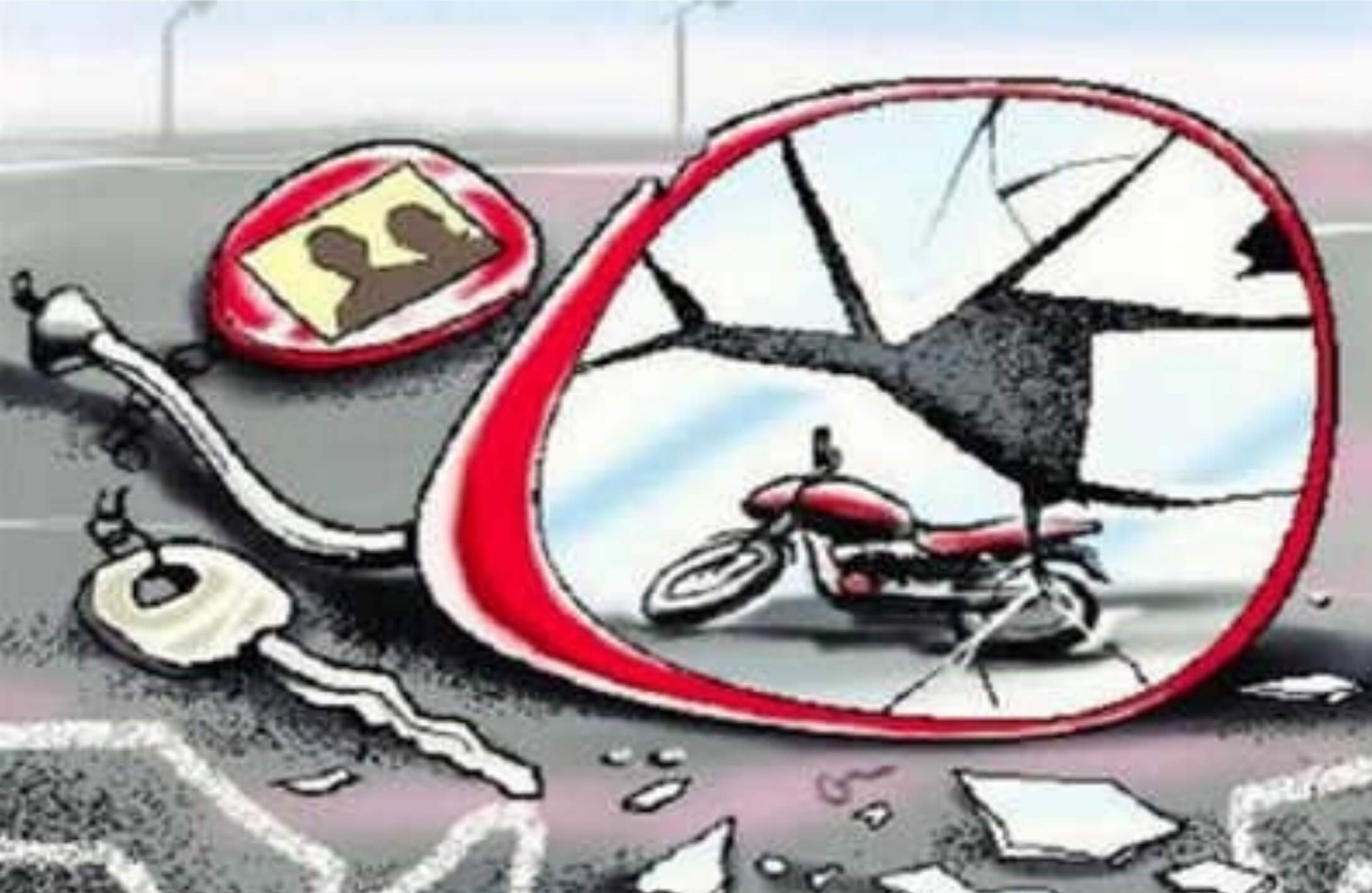 Road mishap claims lives of two students