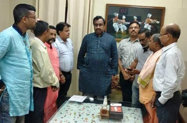 NELECC delegates meet  BJP leaders in Delhi
