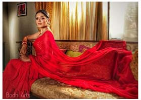 Flaunting Red...