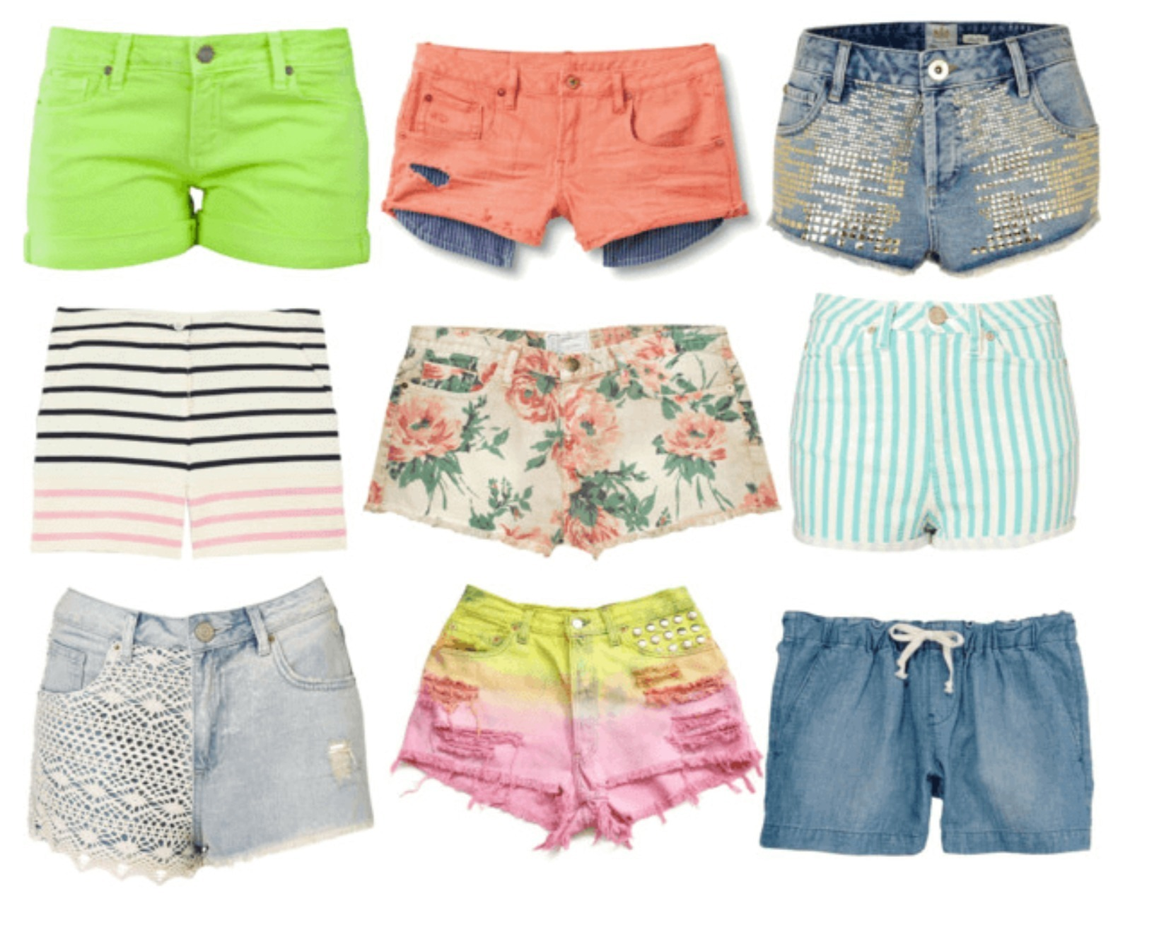 Cool Summer Shorts for Women