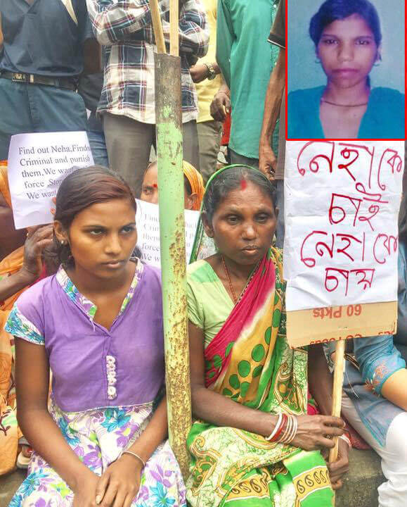 Tea tribe body presses for recovery of Neha