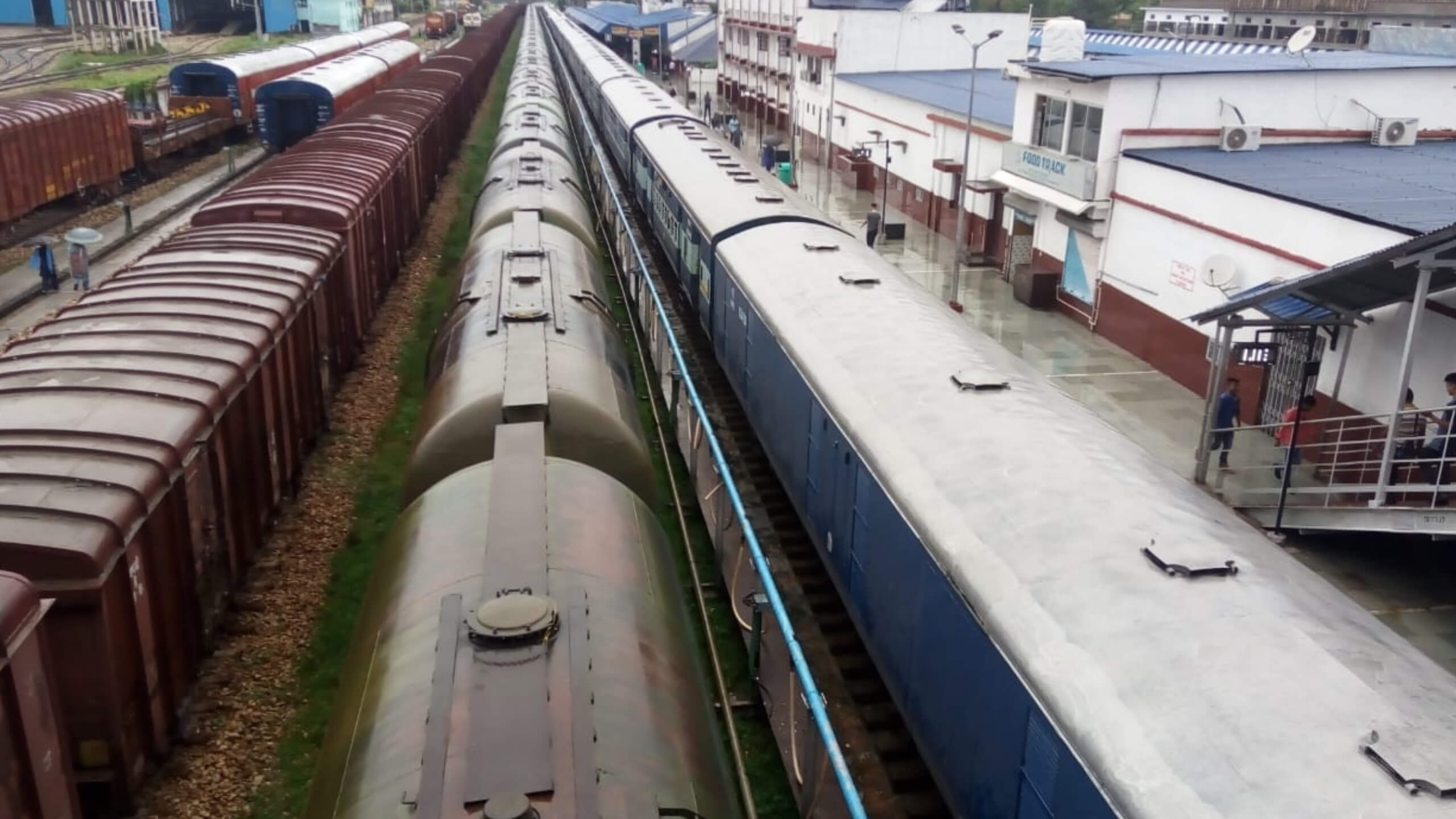 Trains From Lumding Cancelled due to Washout