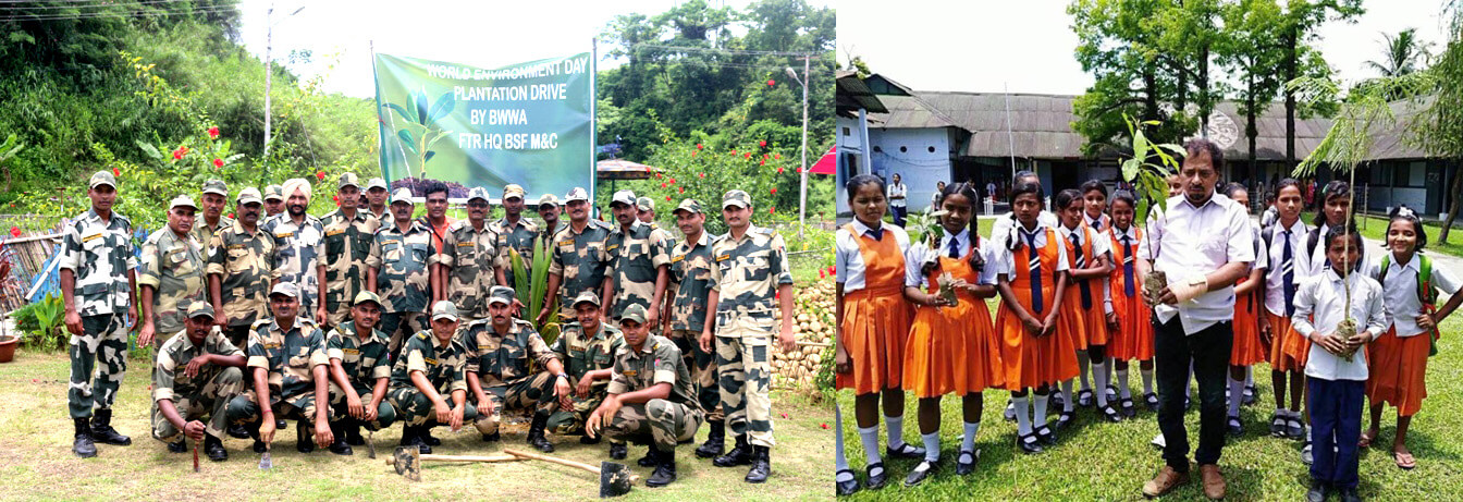 World Environment Day observed by BSF and other organizations
