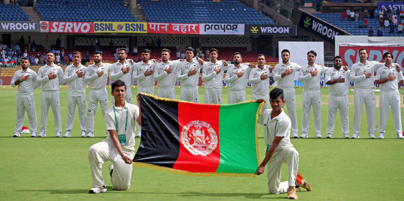 Afghanistan pull India back  with 5 wickets in final session