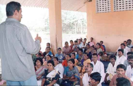 Awareness meeting against superstition held