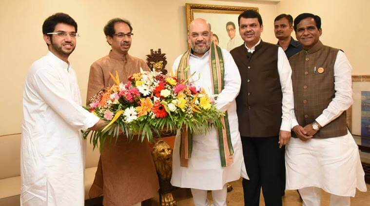 BJP-Shiv Sena's Pact on LS Election