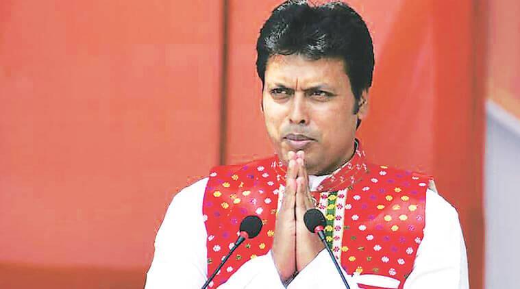 Tripura CM Biplab Kumar Deb Seeks Support of Ex-Servicemen In Social Sector