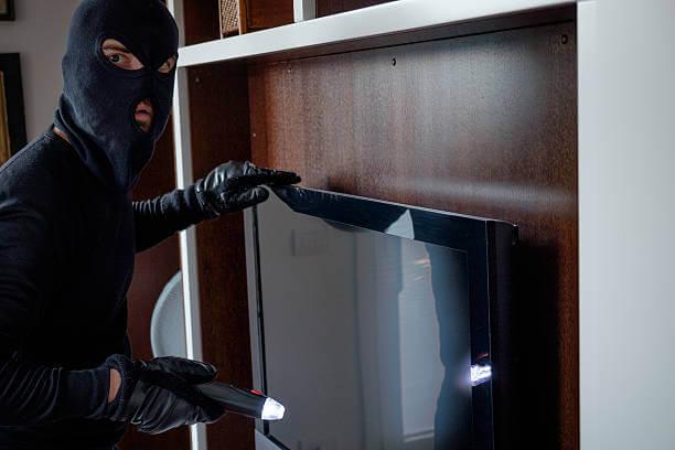 Stolen TV set found