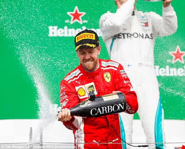 Vettel wins Canada GP, regains F1 leadership
