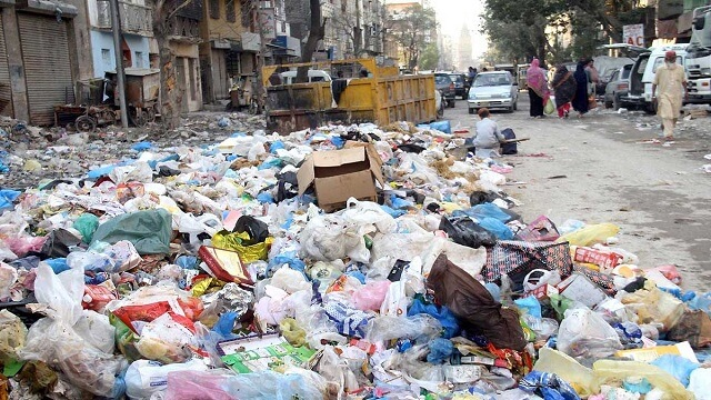 Garbage disposal erratic in city area