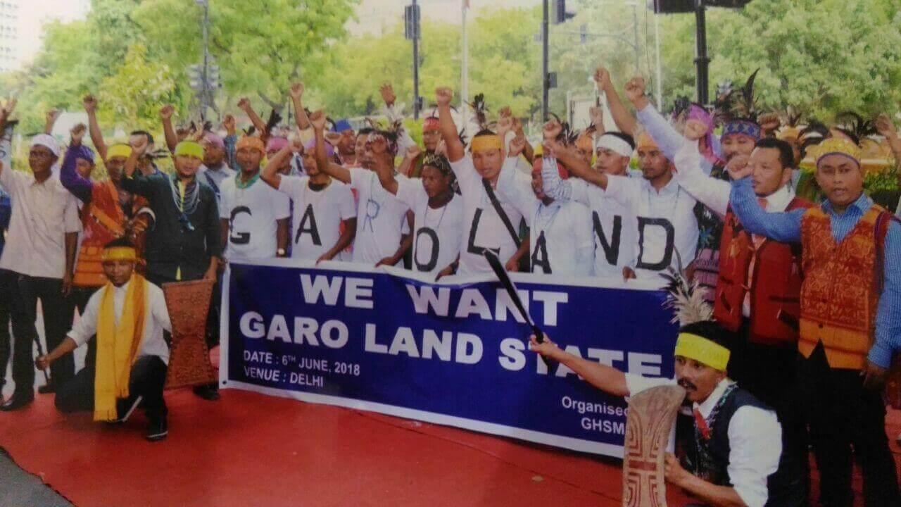 Rally in Delhi for creation of Garoland