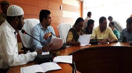 Hailakandi DDMA approves  flood-damage estimate proposals