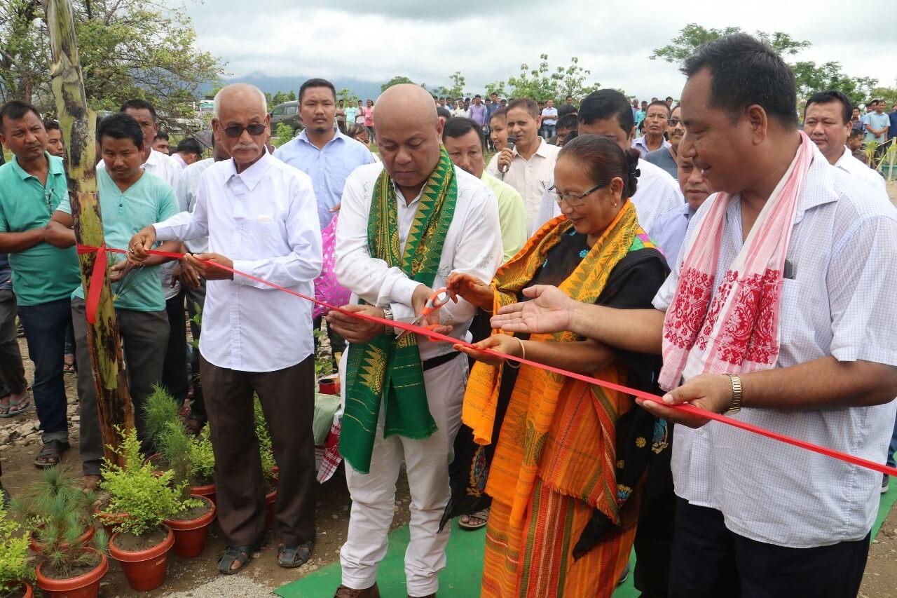 Mohilary inaugurates model hospital at Barama