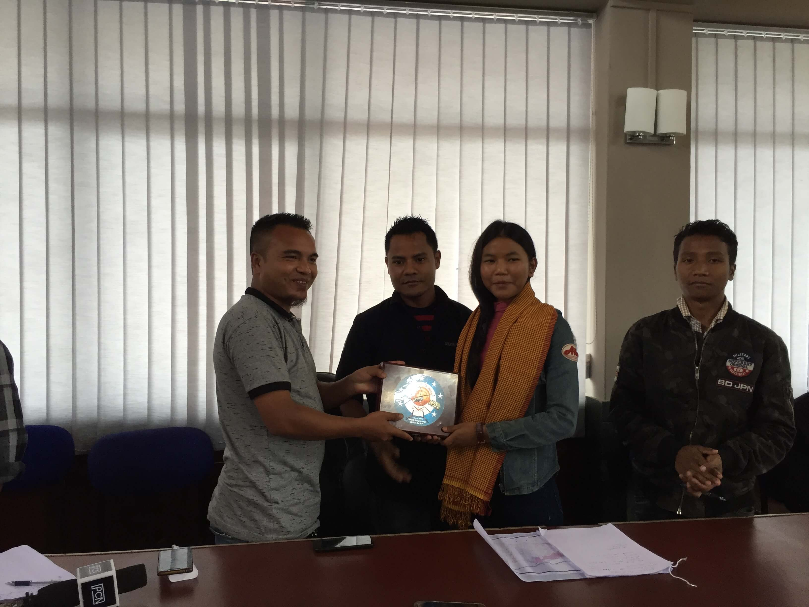 KSU unit felicitates meritorious student