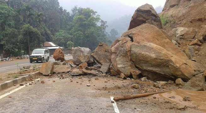 Landslide alarm