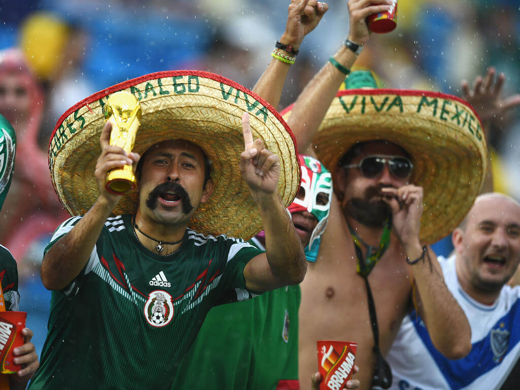 Mexicans hail win over Germany