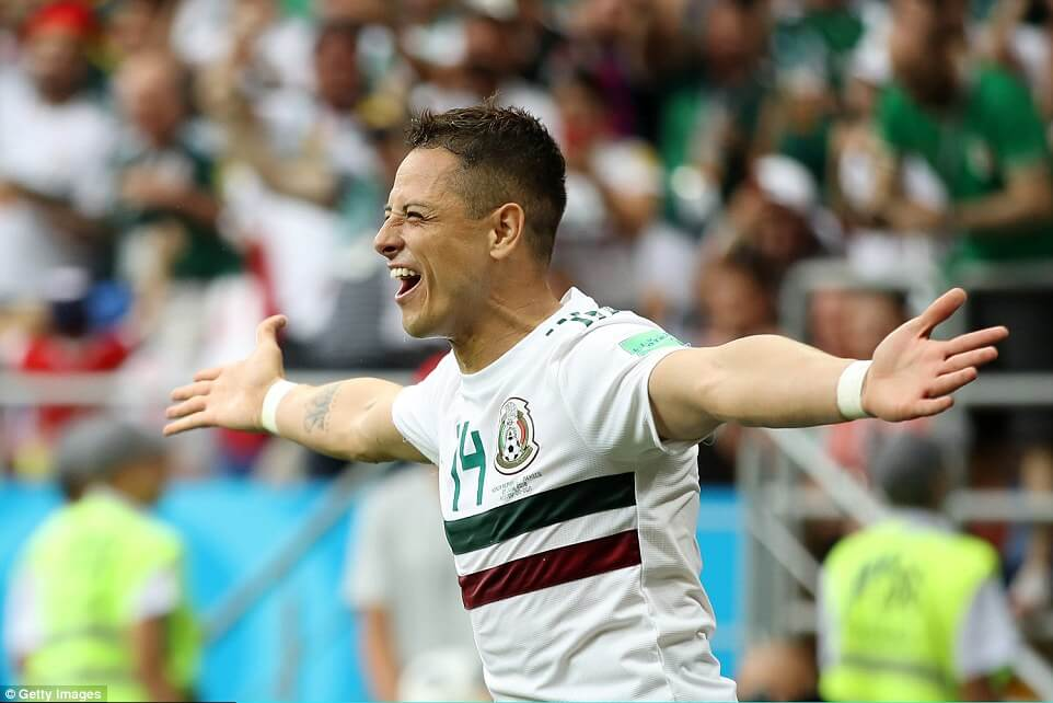 Mexico outclass South Korea