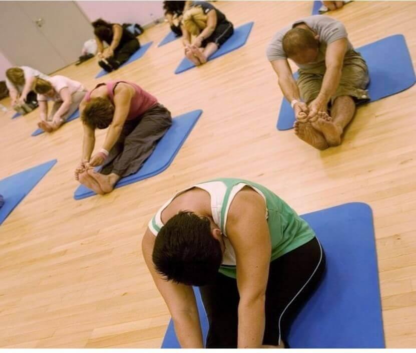 Yoga sessions begin