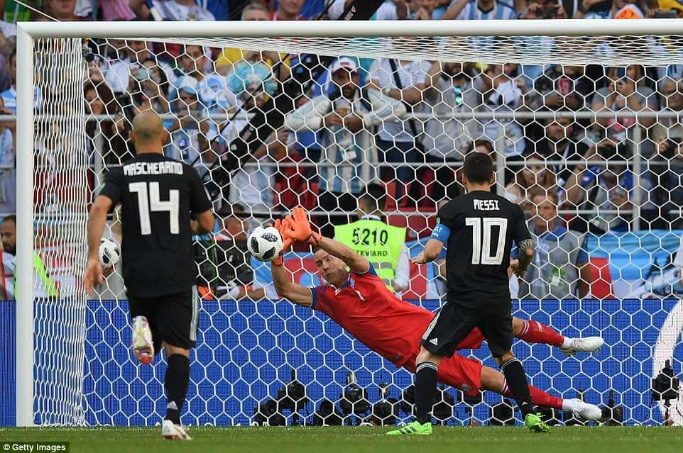 Messi humbled
