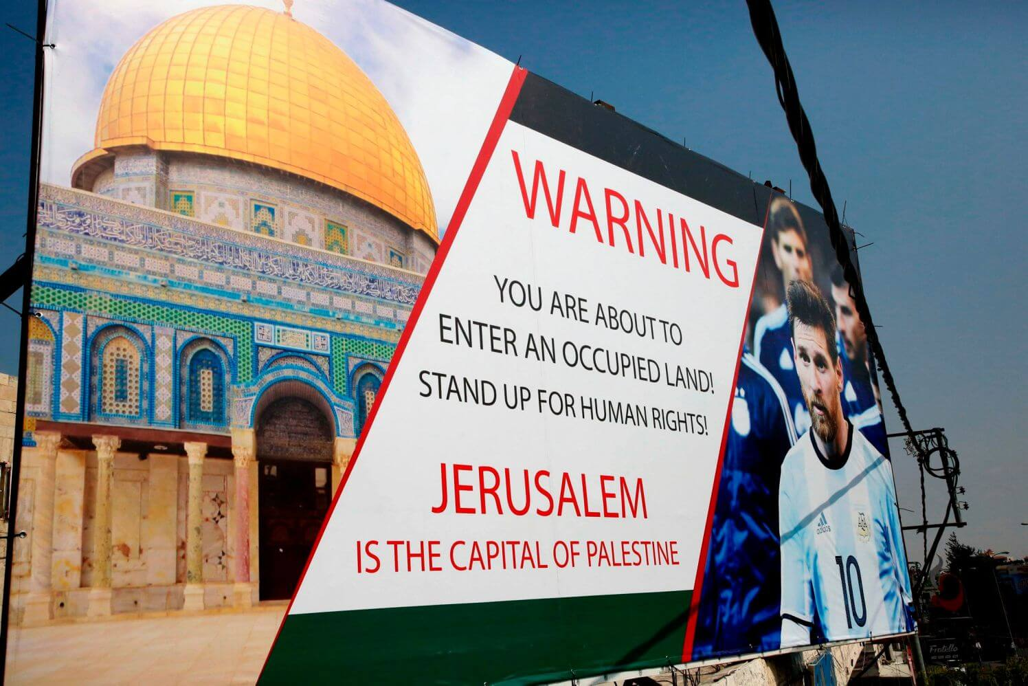 Pre-World Cup friendly between Israel, Argentina called off amid protests