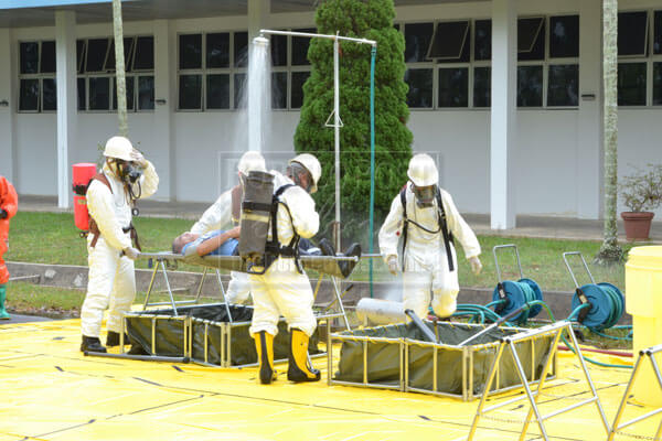 Mock drill conducted